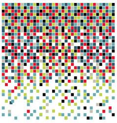 colores square background icon vector image