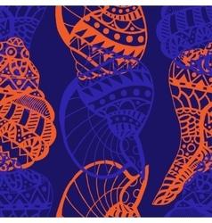 Seashell Pattern vector image