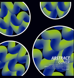 Abstract covers fluids vector