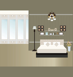 bedroom15 vector image