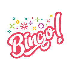 Bingo game vector