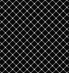 Black white rounded square pattern background vector