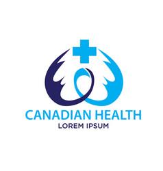 cancer care logo designs vector image