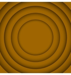 Concentric Orange 6 Circle Background vector image