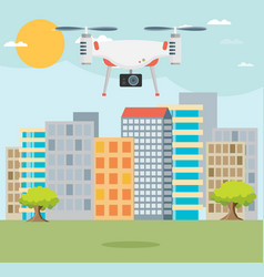 Drone technology design eps10 graphic vector