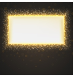 Glittering star dust background vector image