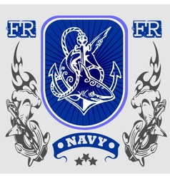 NAVY Military Design - vector