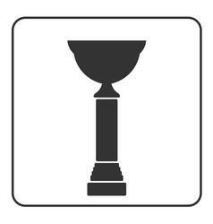 Trophy cup icon 17 vector image