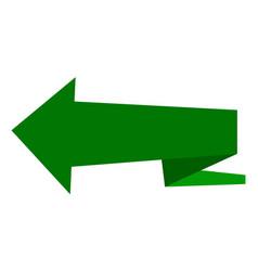 Arrow green download pointer sign forward vector