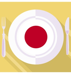 Kitchen of Japan vector
