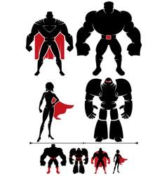 Superhero Silhouette vector