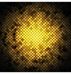 abstract golden dots background vector image
