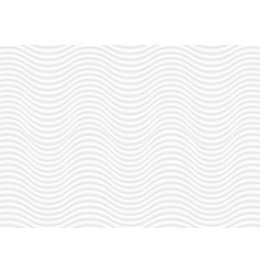 Abstract white waves and lines pattern vector