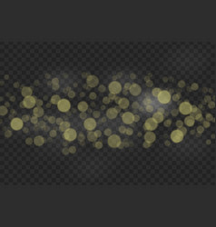 bokeh lights effect isolated vector image