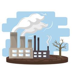 Industry with smoke vector