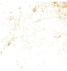 light grunge gold white vector image