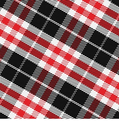 Pattern Scottish tartan 3 vector image