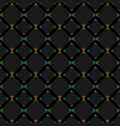 squares seamless background vector image