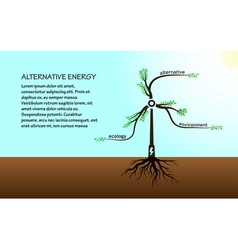 The concept of tree energy vector