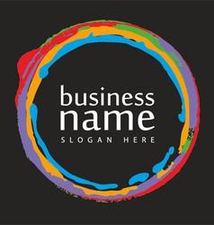 Logo handmade vector image