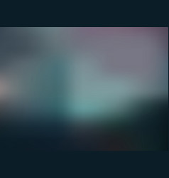 abstract dark green color gradient blurred vector image