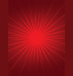 Bright red background vector