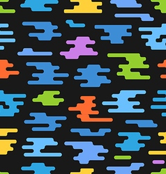 Abstract seamless pattern of different color vector image
