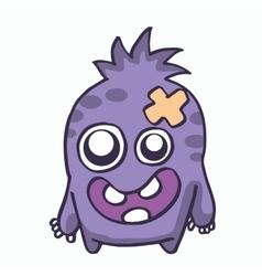 Baby monster for kids t-shirt design vector