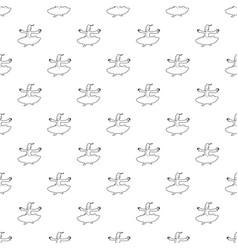 arabic man pattern seamless vector image