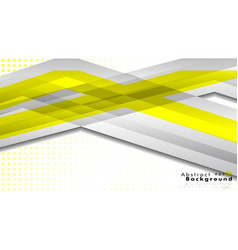 Bright abstract background template yellow with vector