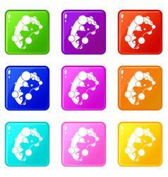 Cell virus set 9 vector