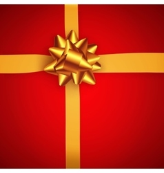 Gift background top view vector image