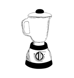kitchen blender icon image vector image