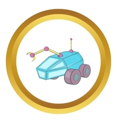 Rover icon vector