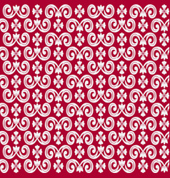 seamless repeating pattern with decorative vector image