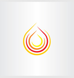 fire clip art flame icon logo symbol vector image