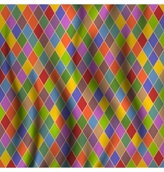 Multicolored rhombuses vector image vector image