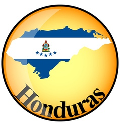 Button Honduras vector