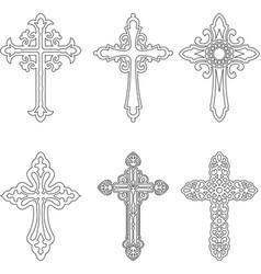 cross image vector image