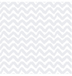 grey and white chevron seamless pattern vector image