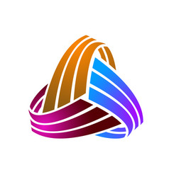 Modern abstract branding identity corporate logo vector