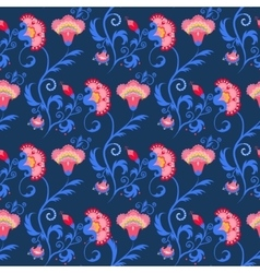 Seamless indian tribal pattern with vector image