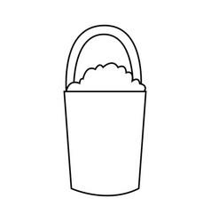 gardening tools icon image vector image