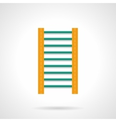Wall bars flat color icon vector image