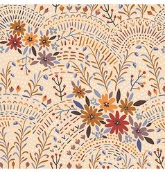 pattern floral light vector image vector image