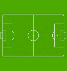 soccer field or football field eps10 vector image vector image