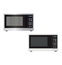 abstract microwave isolated vector image