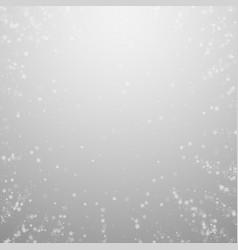 Beautiful snowfall christmas background subtle fl vector