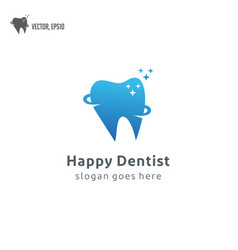dental dentist tooth teeth logo icon vector image