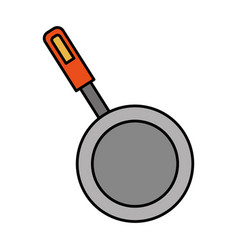 Kitchen utensils icon vector